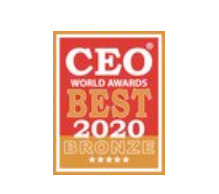 CEO World Award 2020 - Bronze - Executive Hero of the Year