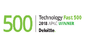 Deloitte Technology Fast 500 Program 2018 Ranked #6