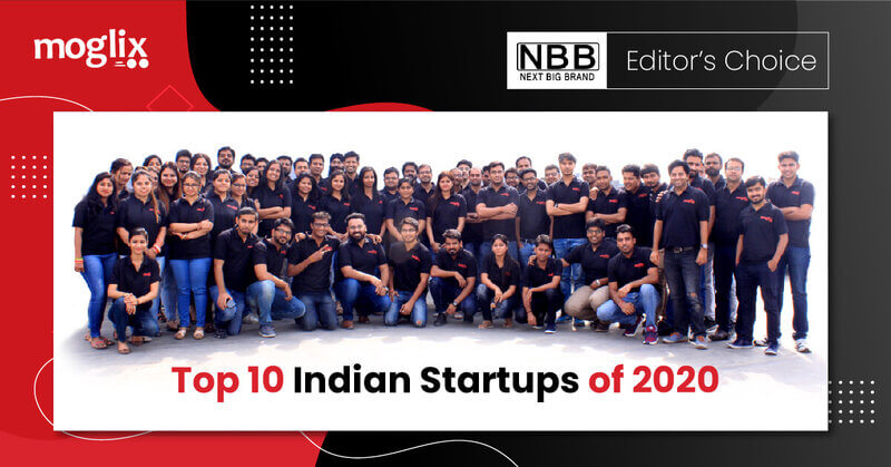 Moglix Listed as One of the Top 10 Indian Startups​ of 2020
